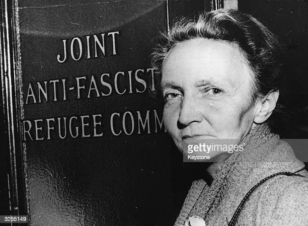 The French Physicist and Nobel prize winner for chemistry Irene JoliotCurie