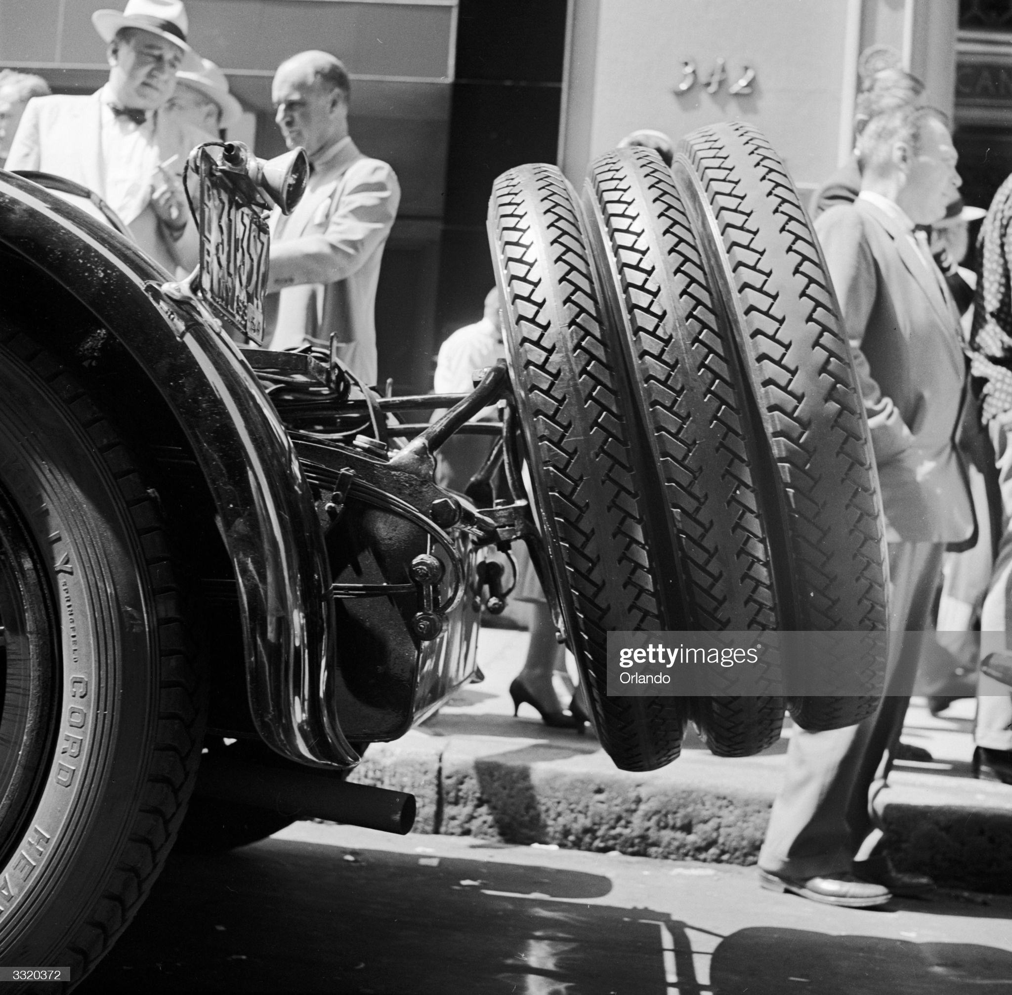 Three Tyres : News Photo