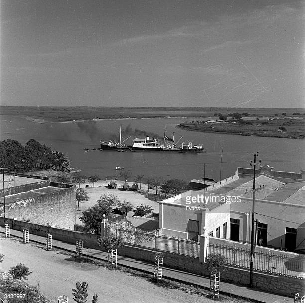 A boat on the Paraguay River from Asuncion Paraguay's capital city