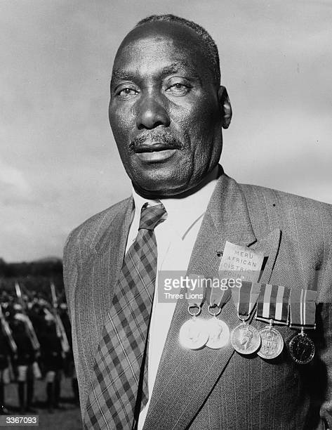 Nigerian man decorated with medals who is a member of the Meru African District Council.