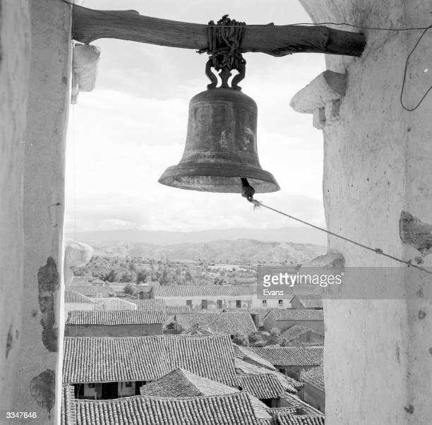 A view from the bell tower in Ayacucho Peru