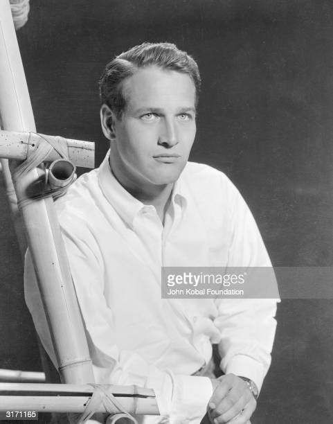 American actor Paul Newman who won a Best Actor Oscar for his role in 'The Color of Money'