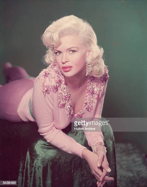 American actress and sex symbol Jayne Mansfield .