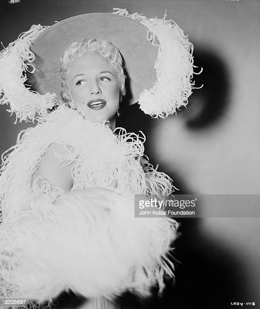 American actress Peggy Lee who wrote the songs for the Disney animated film 'Lady and the Tramp'