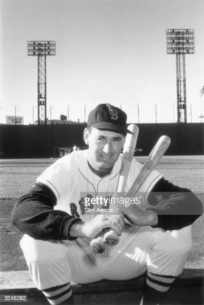 American baseball player Ted Williams outfielder and slugger for the Boston Red Sox