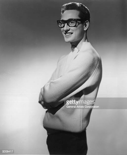 American rock 'n' roll singer Buddy Holly