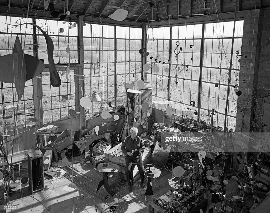 Alexander Calder : Fotografía de noticias