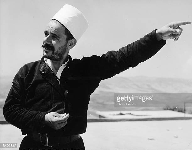 Any question to a Druze from an outsider is answered by a finger pointing to the priests' house.