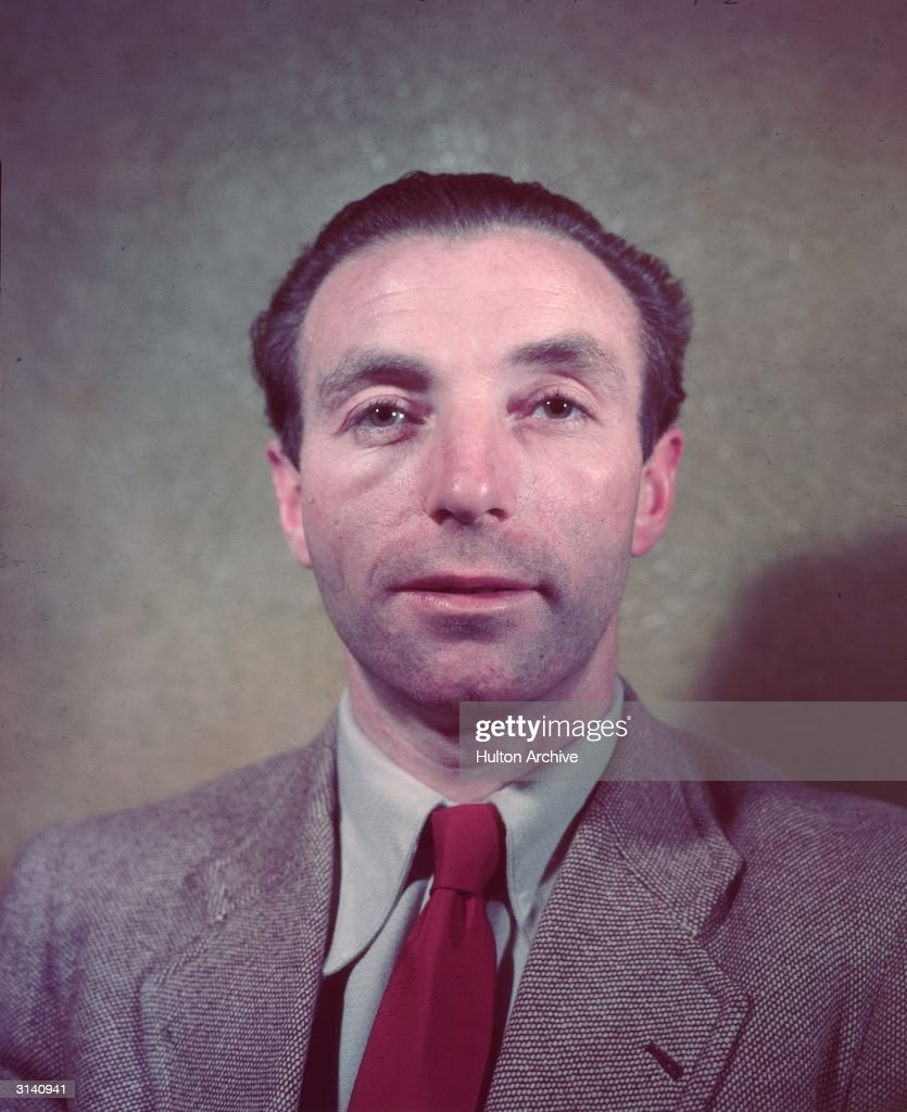 Britain's most famous footballer, Stanley Matthews (1915 - 2000) of Blackpool FC.