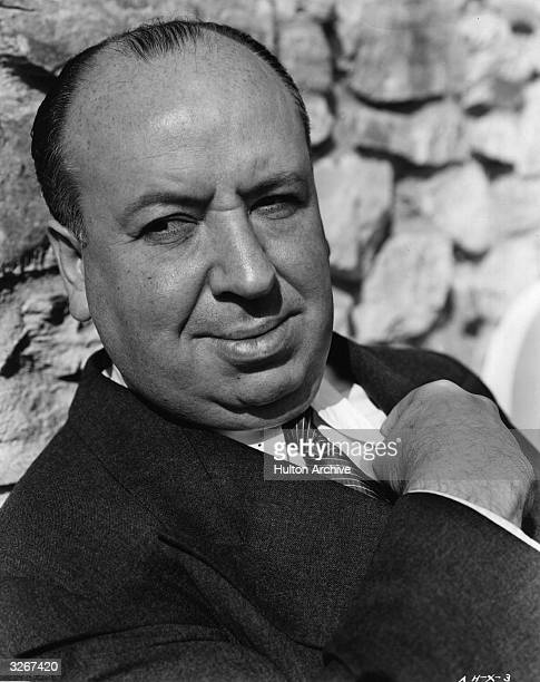 British film director Alfred Hitchcock