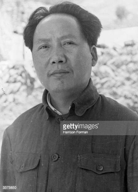Chinese Communist leader Mao Tse-tung .