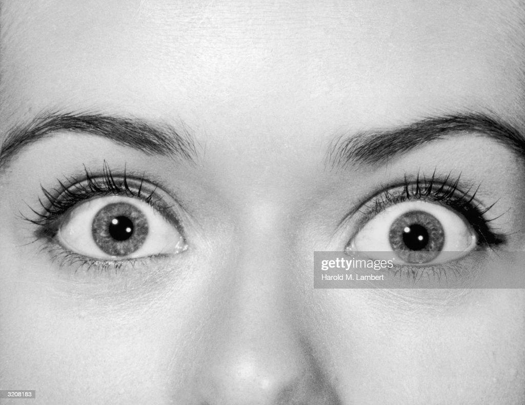 Surprised Eyes : ニュース写真