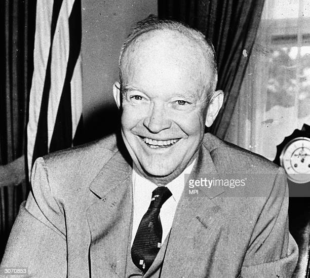 Dwight David Eisenhower , the American military leader whose triumph as Allied Supreme Commander during World War II led to his becoming the 34th...