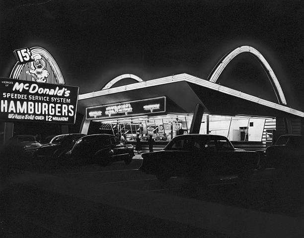 CA: 15th May 1940 - The 1st McDonald's Restaurant Opens in California