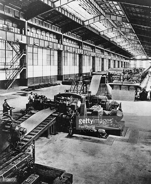 Fiat foundaries in Turin which provide 85% of the entire Italian car production