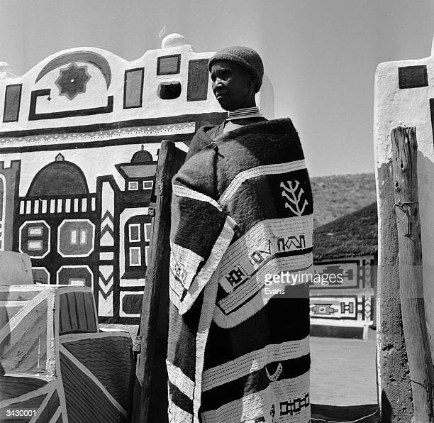Ndebele women decorate their houses and compound walls with intricate and geometric patterns Traditional Ndebele dress and beadwork are also noted...