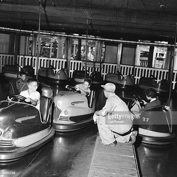 Safety engineer Harvey Ouellette works at Playland Amusement Park Rye New York