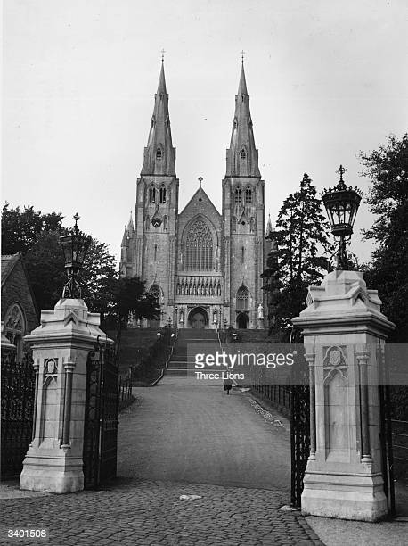 Saint Patrick's cathedral Armagh Ireland originally founded in the 5th century