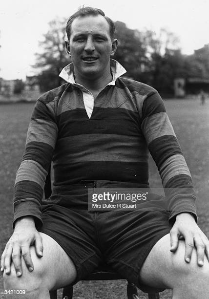 Scottish Rugby Union player Angus Cameron
