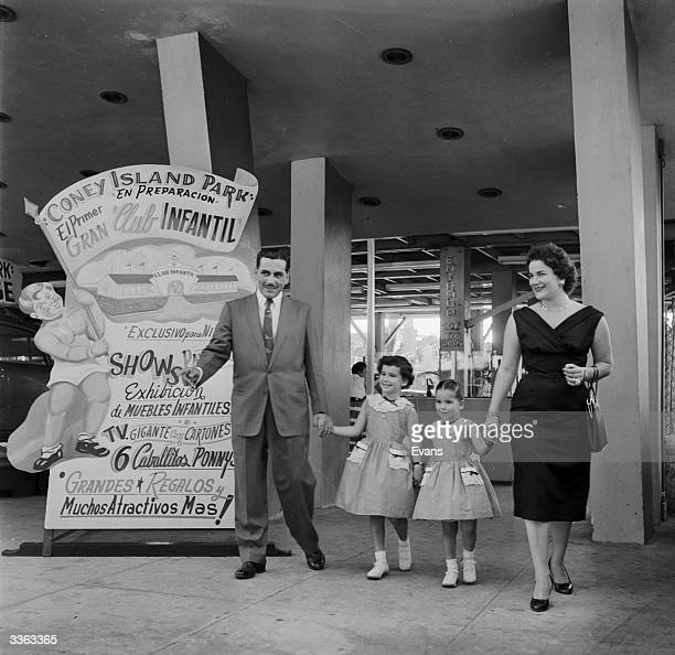 The Gondar family leaving Havana's Coney Island theme park
