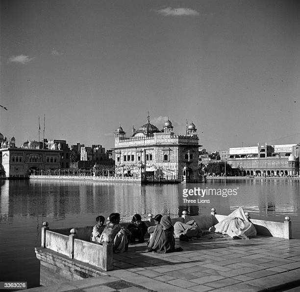 The Har Mandir Sahib or Golden Temple in Amritsar in the northern state of Punjab India