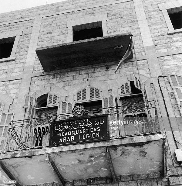 The headquarters of the Arab Legion in Amman the capital of Jordan