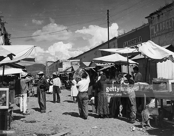 The market in the Mexican city of Morelia