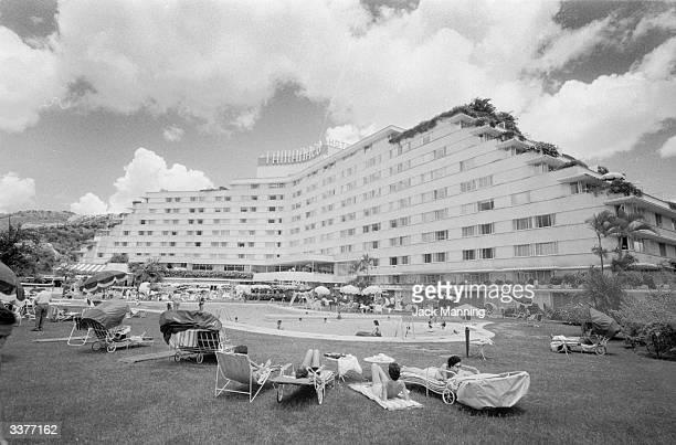 The Tamanaco luxury hotel in central Caracas Venezuela