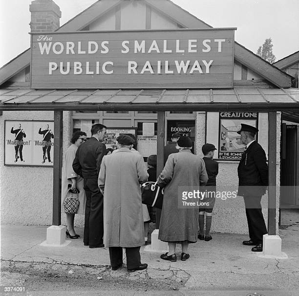 The size of the Hythe ticket office of the Romney Hythe and Dymchurch Light Railway corresponds with that of the trains themselves The line boasts...