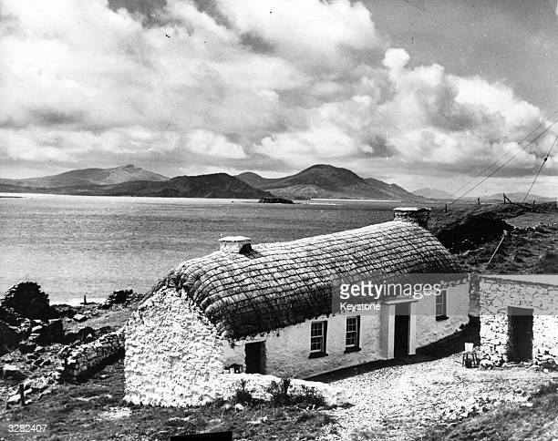 A cottage by Malin Head County Donegal