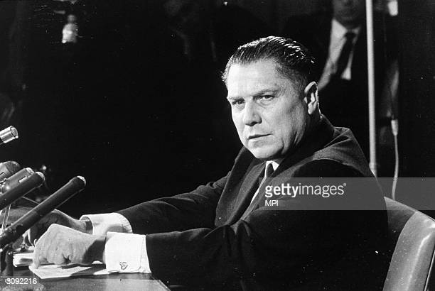 American labour leader Jimmy Hoffa As leader of the powerful Teamsters Union Hoffa was rumoured to have connections with organized crime and served...