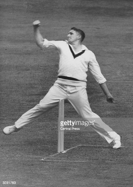 Australian fast bowler Alan Davidson the Wisden Cricketer of the Year 1962