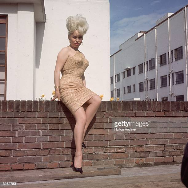 English actress and star of the 'Carry On' films Barbara Windsor