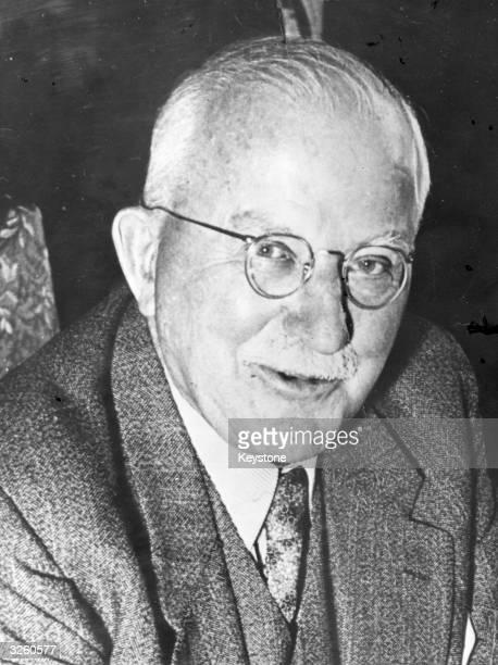 German organic chemist Dr Hermann Staudinger founder of polymer chemistry