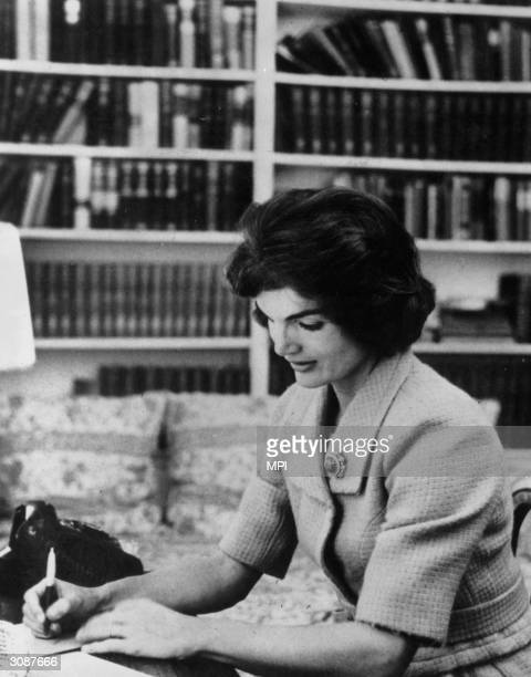 Jacqueline Lee Bouvier Kennedy Onassis , wife of American president John F Kennedy and, after Kennedy's assassination, of Greek shipping tycoon...