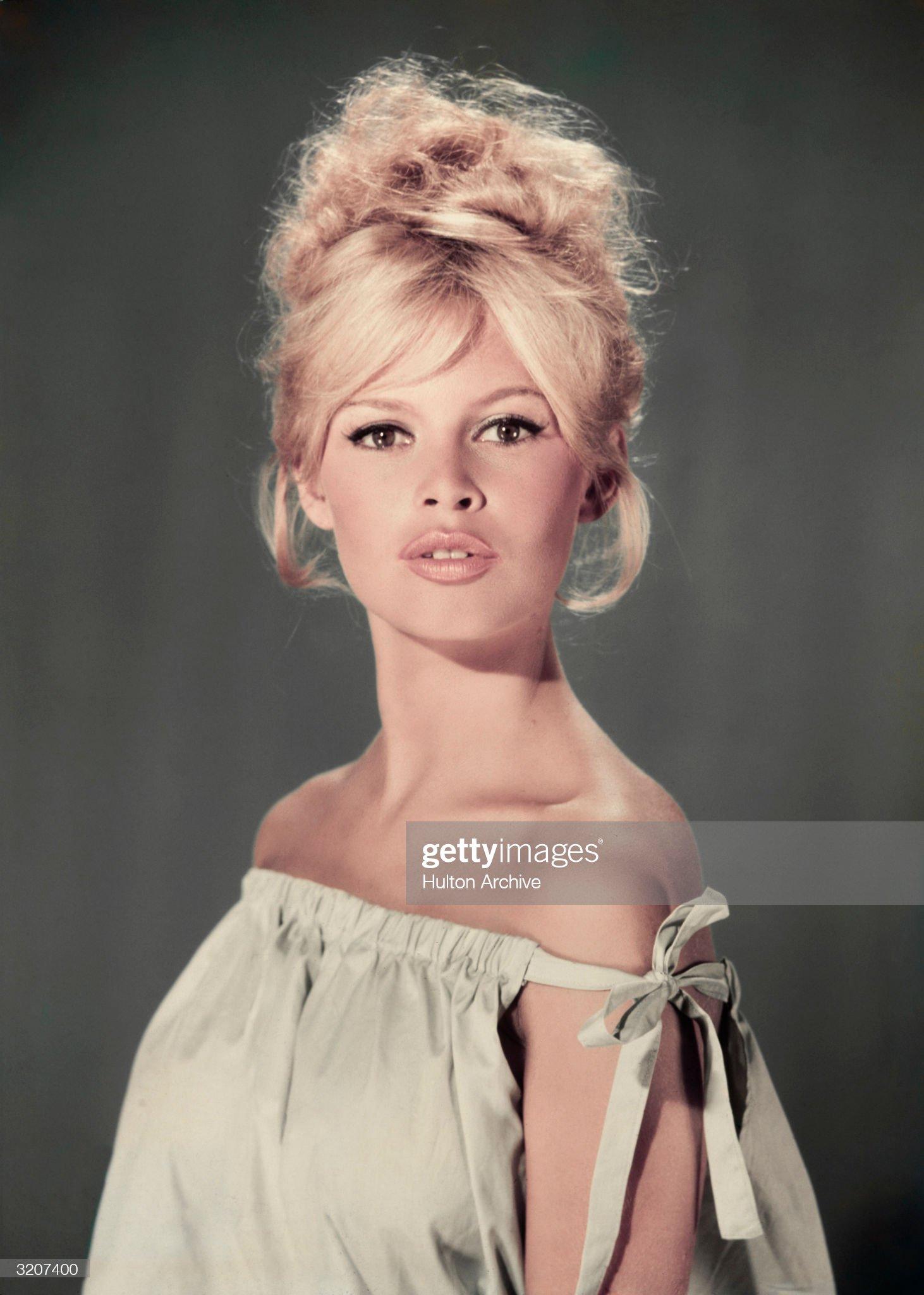 Pouting Bardot : News Photo