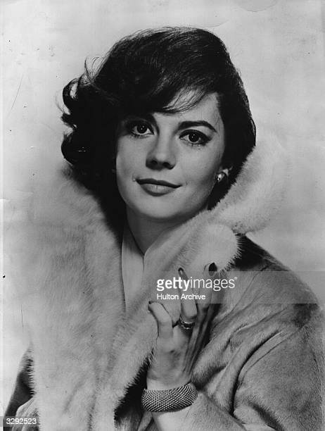 The Hollywood actress Natalie Wood formerly Natasha Gurdin who is currently appearing in 'Cash McCall'