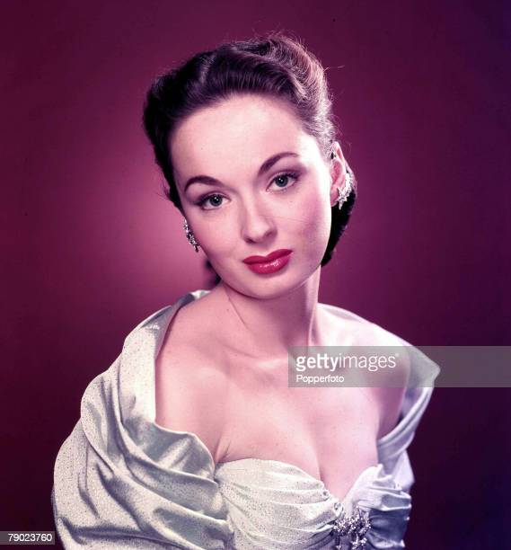 Circa 1960 Vintage colour transparency Cinema A portrait of the American singer turned actress universal star Ann Blyth