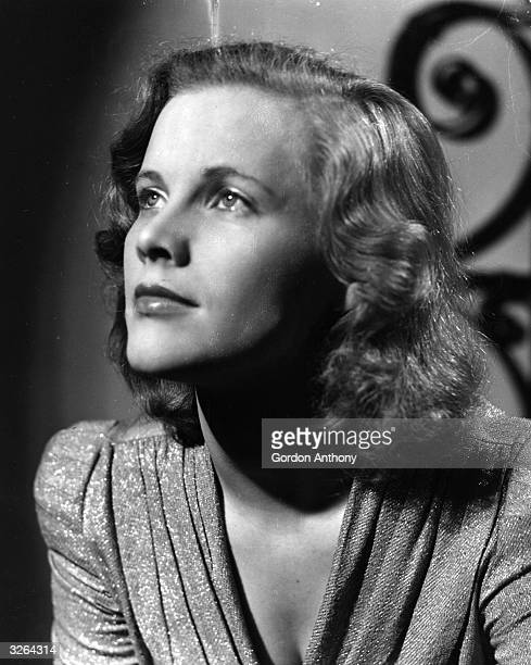 British actress Honor Blackman a product of the Rank charm school She appeared in the James Bond film 'Goldfinger' as well as taking parts in...