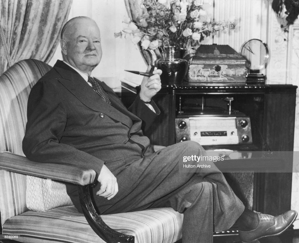 Herbert Hoover : ニュース写真