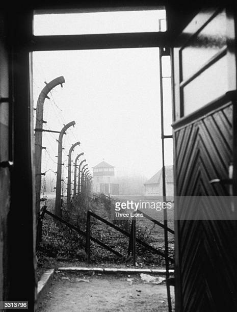 A general view of Buchenwald concentration camp