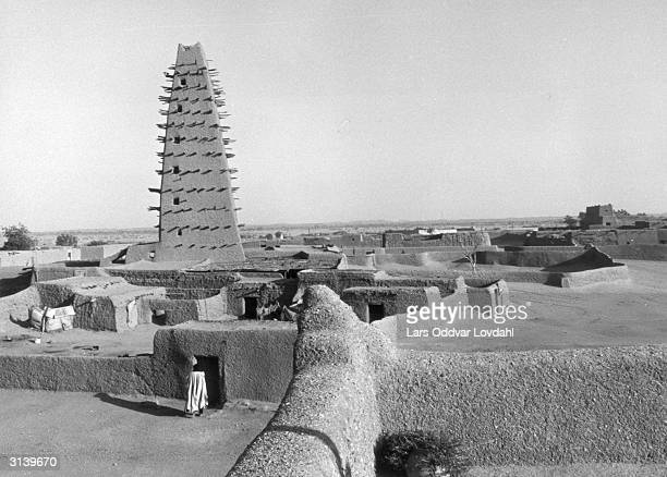 A pigeon tower in Agadez Niger