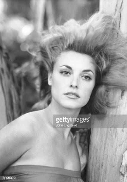 American actress Sharon Tate who was married to director Roman Polanski at the time of her murder by the Manson Family