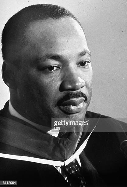 American civil rights leader and Baptist Minister Martin Luther King A leader of the Montgomery Bus Boycott he became America's foremost campaigner...