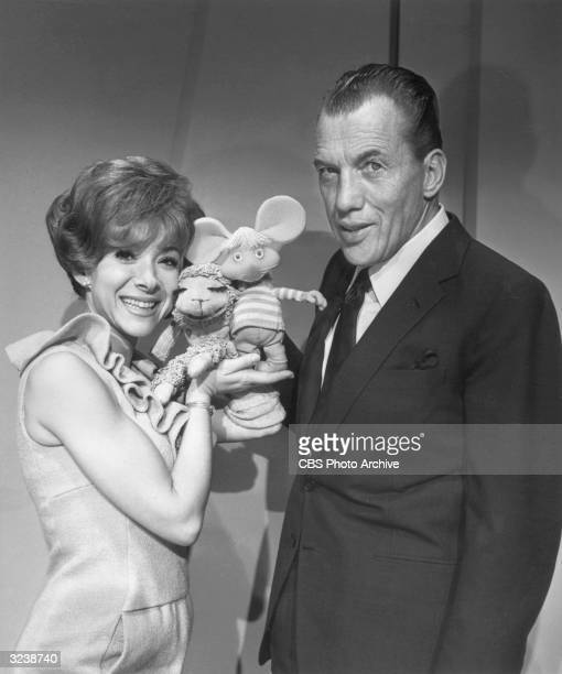 American ventriloquist Shari Lewis' puppet Lamb Chop finds a boyfriend when Lewis introduces her to Topo Gigio the Italian Mouse in a promotional...