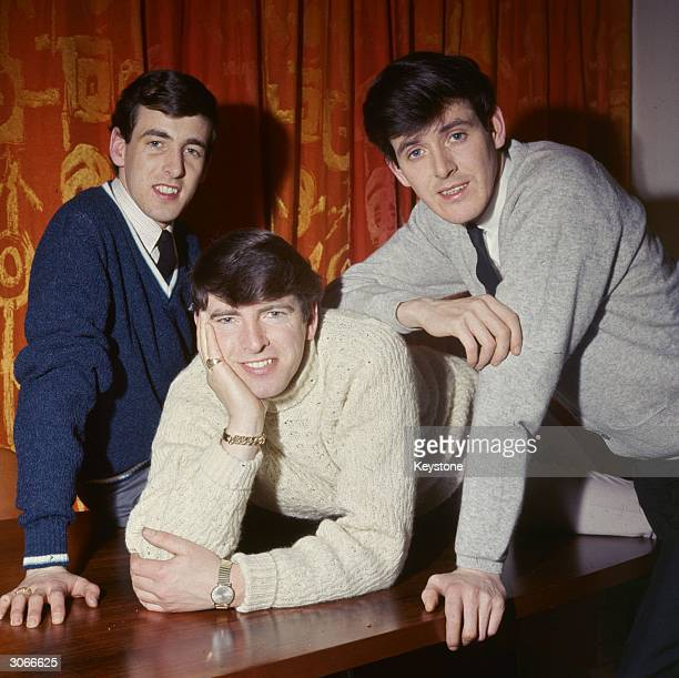 Dublinborn easy listening vocal trio The Bachelors consisting of Declan Cluskey Conleth Cluskey and John Stokes