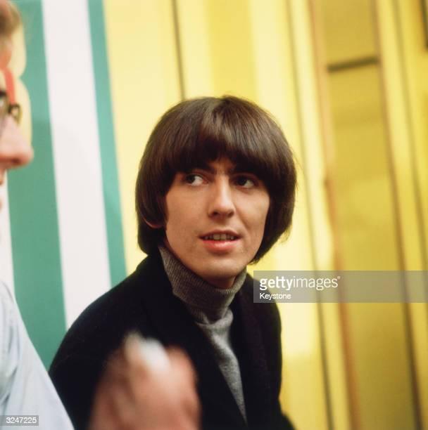 George Harrison of the Beatles.