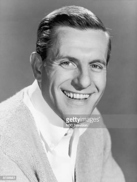 Headshot portrait of American actor Jerry Van Dyke