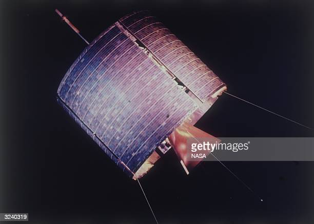 The world's first commercial communications satellite Intelsat 1 also called Early Bird The satellite launched in April 1965 provided the first...