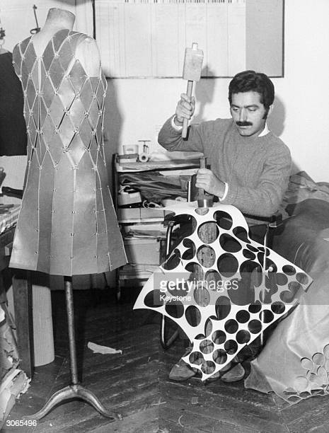 French fashion designer Paco Rabanne